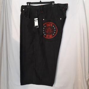 NWT Coogi Men's Denim Walking Shorts